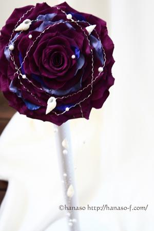 メリアブーケ 濃い紫で_c0198981_17115687.jpg