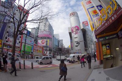 2月21日(火)今日の渋谷109前交差点_b0056983_14265268.jpg