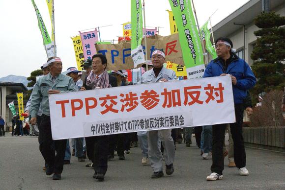 中川村の反TPPデモに380人!_e0105099_9574652.jpg