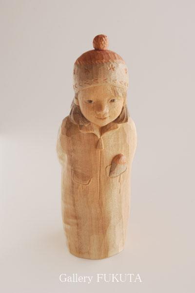 『瀧川佐智子・木彫展』開催中です。  _c0161127_1161858.jpg