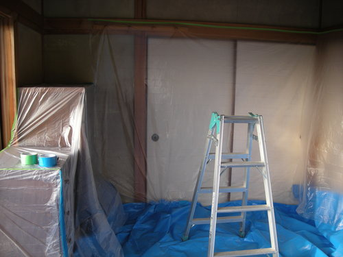 E様邸(安佐南区上安)バスリフォーム・外壁塗装・天井張替え工事_d0125228_19435090.jpg