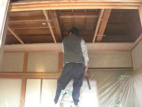 E様邸(安佐南区上安)バスリフォーム・外壁塗装・天井張替え工事_d0125228_1945950.jpg