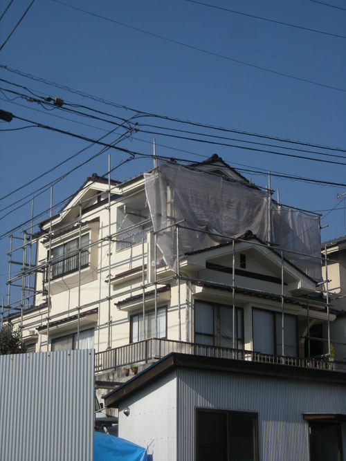 E様邸(安佐南区上安)バスリフォーム・外壁塗装・天井張替え工事_d0125228_19584781.jpg