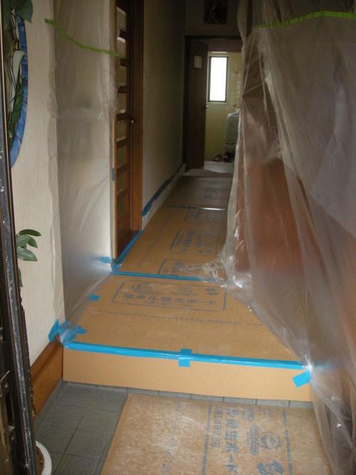 E様邸(安佐南区上安)バスリフォーム・外壁塗装・天井張替え工事_d0125228_2043518.jpg
