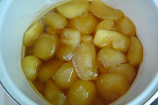 煮りんご_e0226943_20355958.jpg