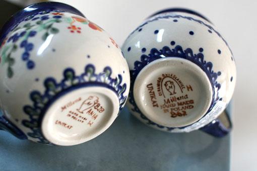 Ceramika Millena ポーランド食器_c0182144_14251989.jpg
