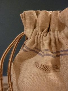 kitchen cloth   きんちゃく袋_a0165160_5494424.jpg