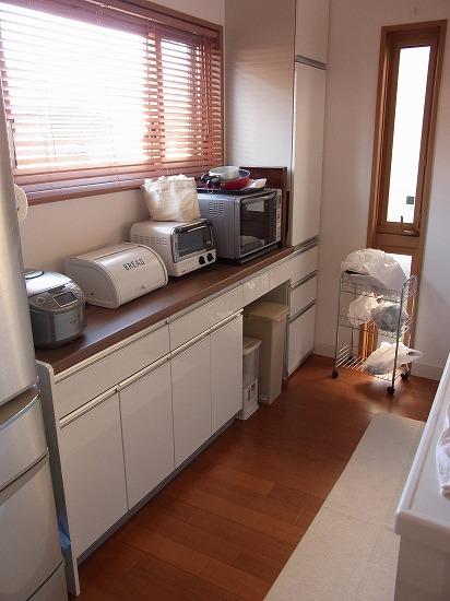 新築住宅の整理収納作業(キッチン編) その1_c0199166_18155598.jpg