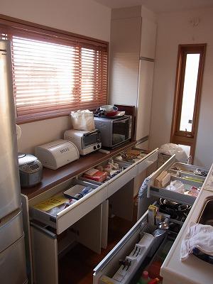 新築住宅の整理収納作業(キッチン編) その1_c0199166_18464123.jpg