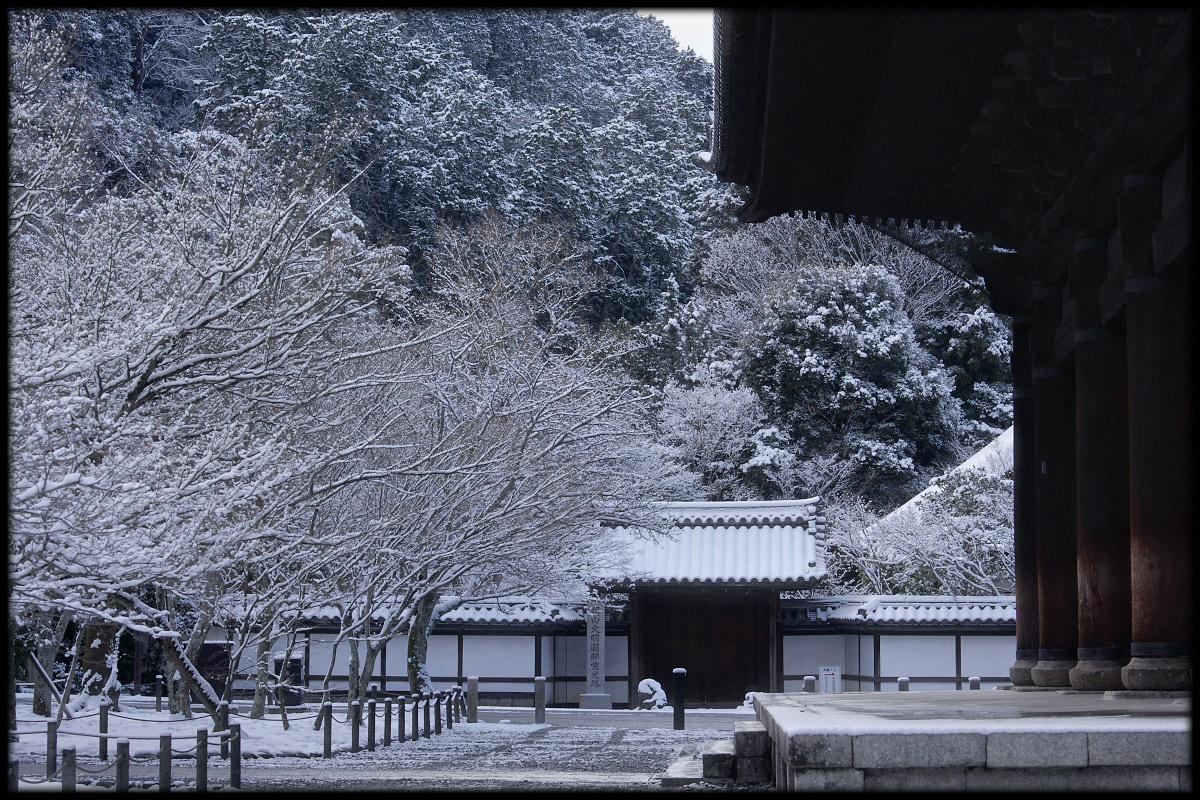 雪景色 <南禅寺>_f0021869_23453880.jpg
