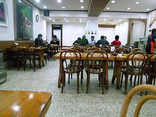 2011年2月釜山の旅 ⑦ソムジンガンのシジミ汁で朝ご飯_a0140305_032725.jpg