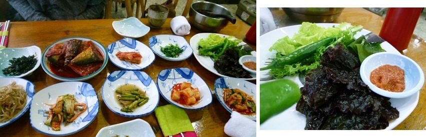 2011年2月釜山の旅 ⑦ソムジンガンのシジミ汁で朝ご飯_a0140305_034240.jpg