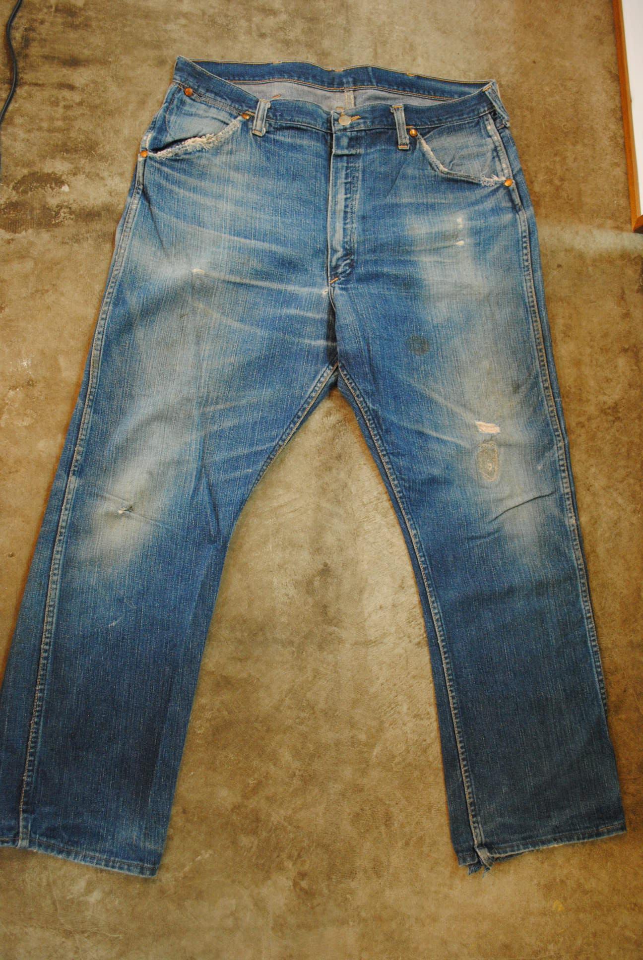 Как сделать по рваные джинсы