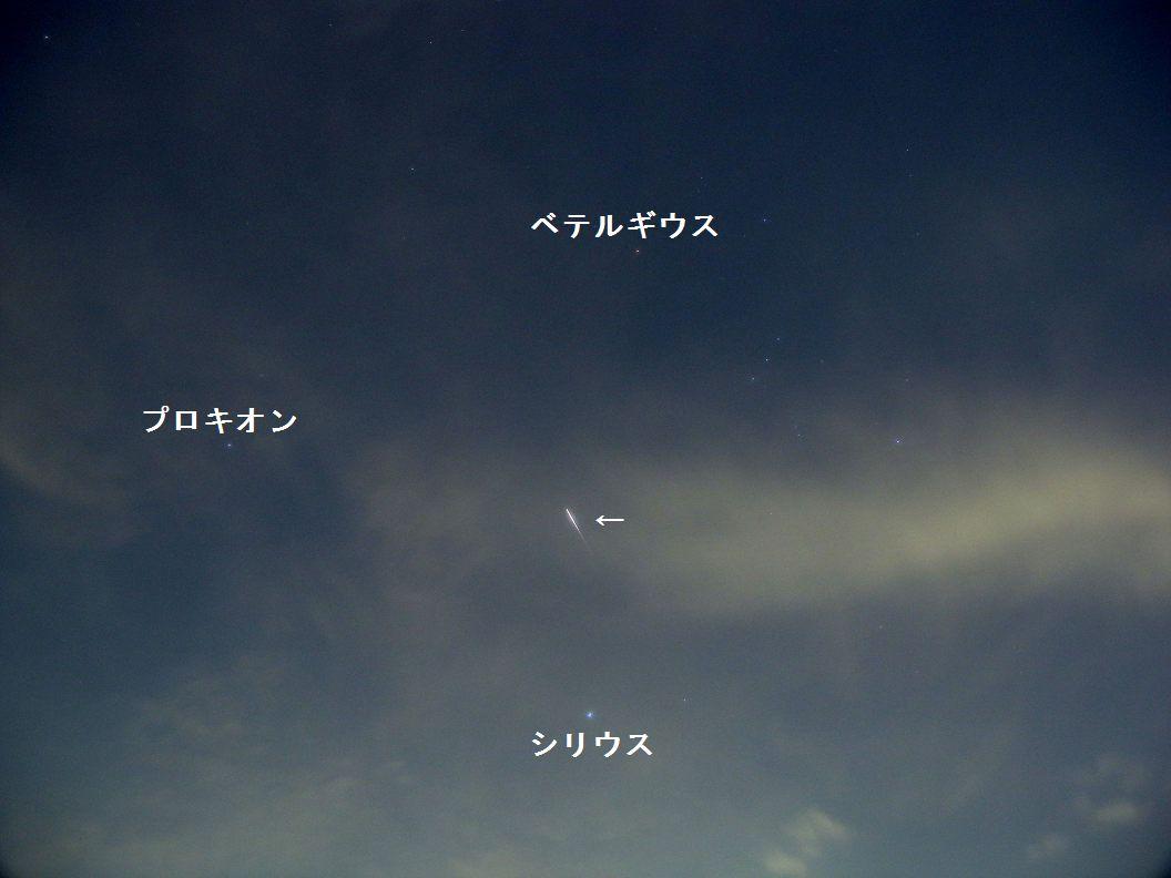 久々にイリジウムフレア_e0089232_1914416.jpg