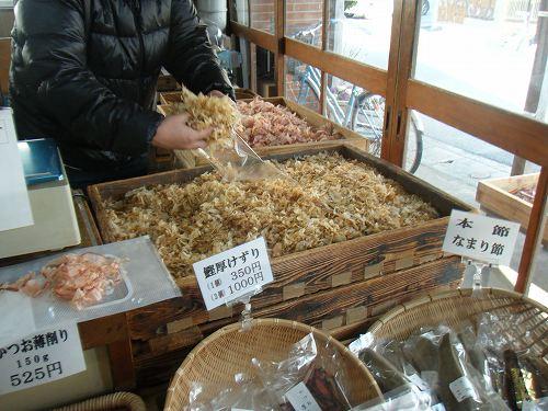 取材で下田の干物店巡り_c0184265_17584986.jpg