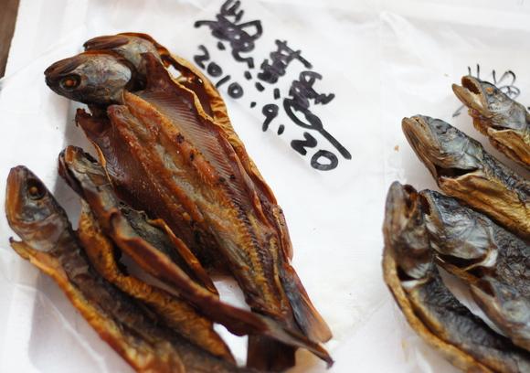 岩魚の骨酒_c0180686_1856322.jpg