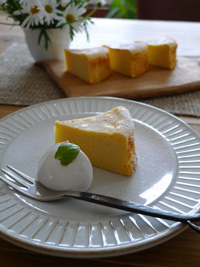 さつまいものクリームチーズケーキ_b0142989_22372187.jpg