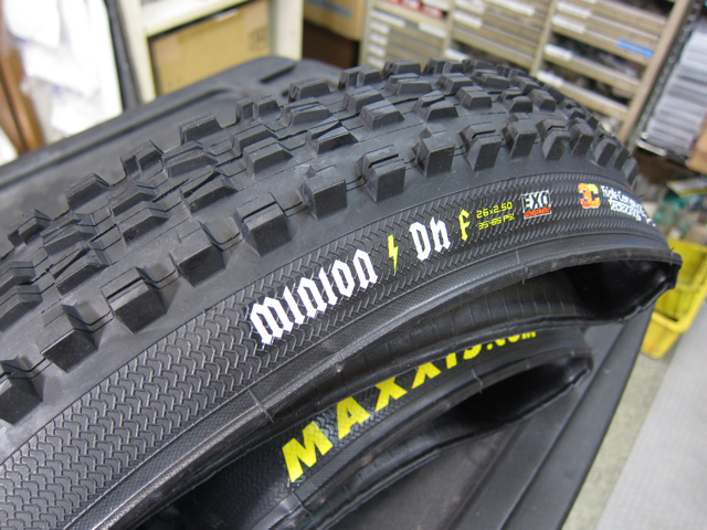 2011 MAXXIS NEW TIRE !_e0069415_1591098.jpg