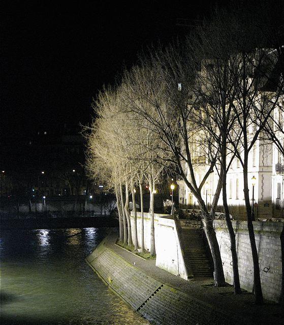 夜のパリ、セーヌは光で溢れる〜♪♪(サンルイ島ーパリ)_f0119071_834548.jpg