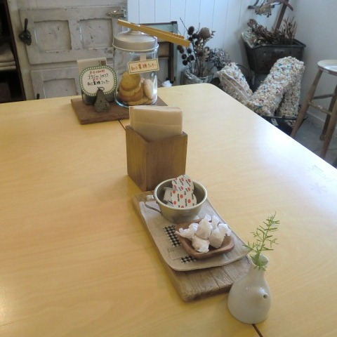 本日のoneday cafe。_a0164280_2244811.jpg