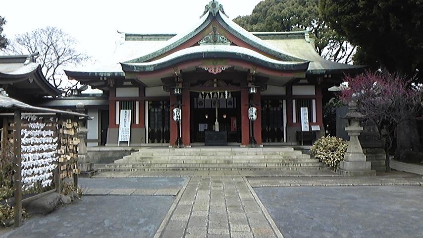 東海道パワースポット「品川神社」参拝。_a0112393_16521871.jpg