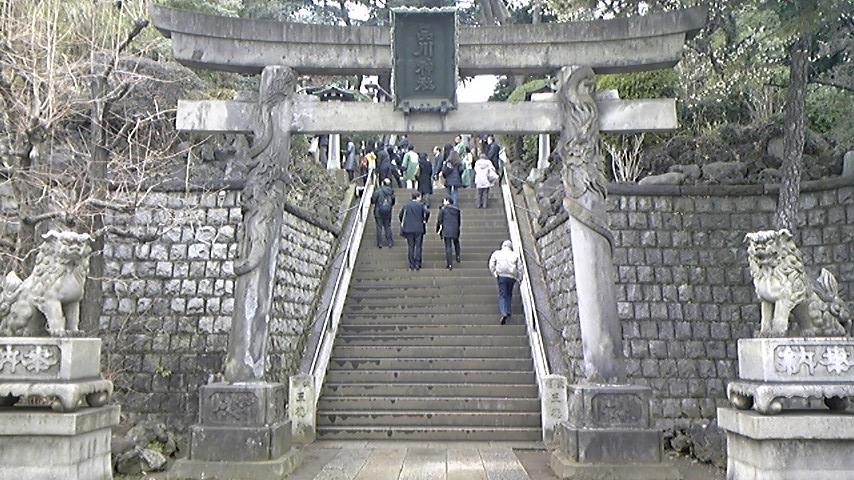 東海道パワースポット「品川神社」参拝。_a0112393_165238.jpg
