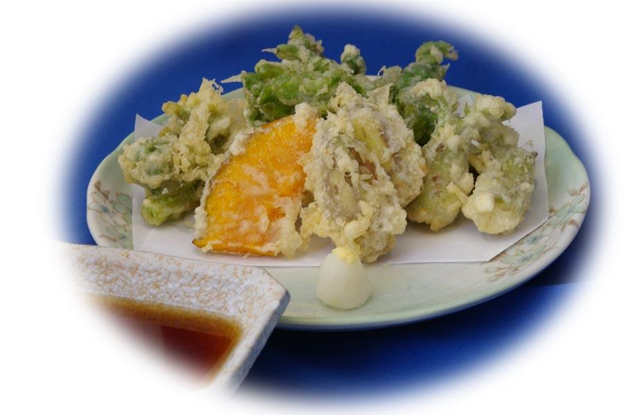 「春野菜の天ぷら」始めました。_e0160513_22205072.jpg