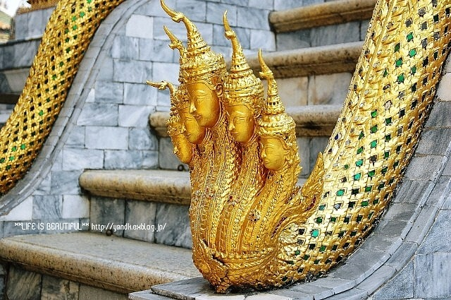恋するThailand⑪エメラルド寺院と王宮_d0083623_22494522.jpg