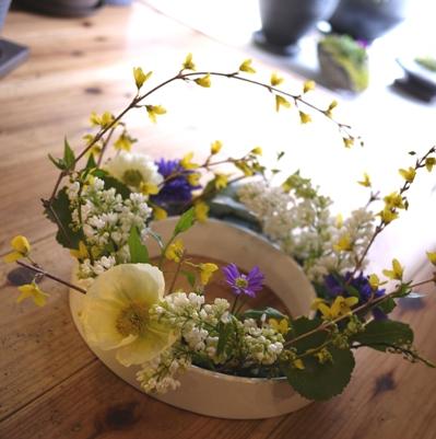 春のリース_c0055343_20145676.jpg