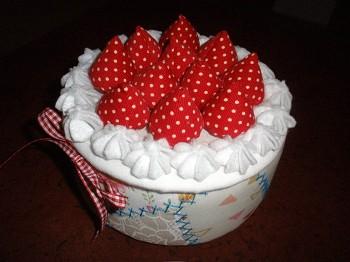 誕生日でもないのに・・・バースデイケーキ♪_a0089450_1952780.jpg