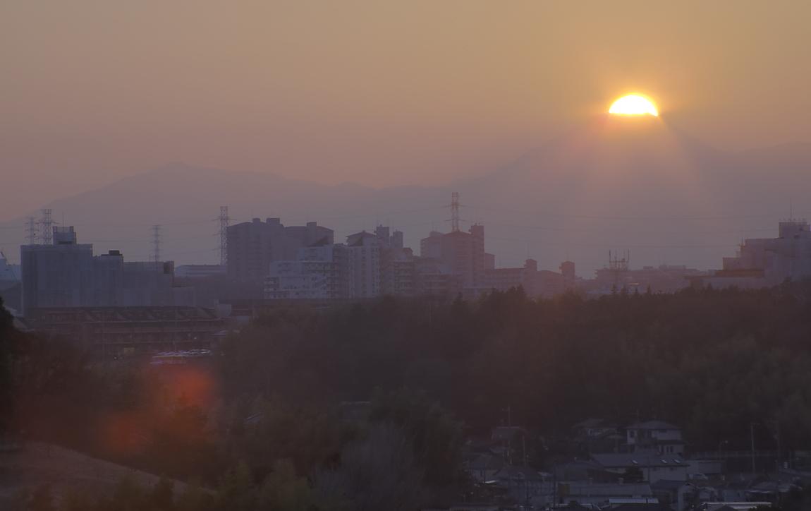 ダイヤモンド富士・横浜市都筑区_a0150260_0245123.jpg
