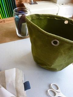 Bonheur sac pot   糸くずいれ♪_a0165160_741406.jpg