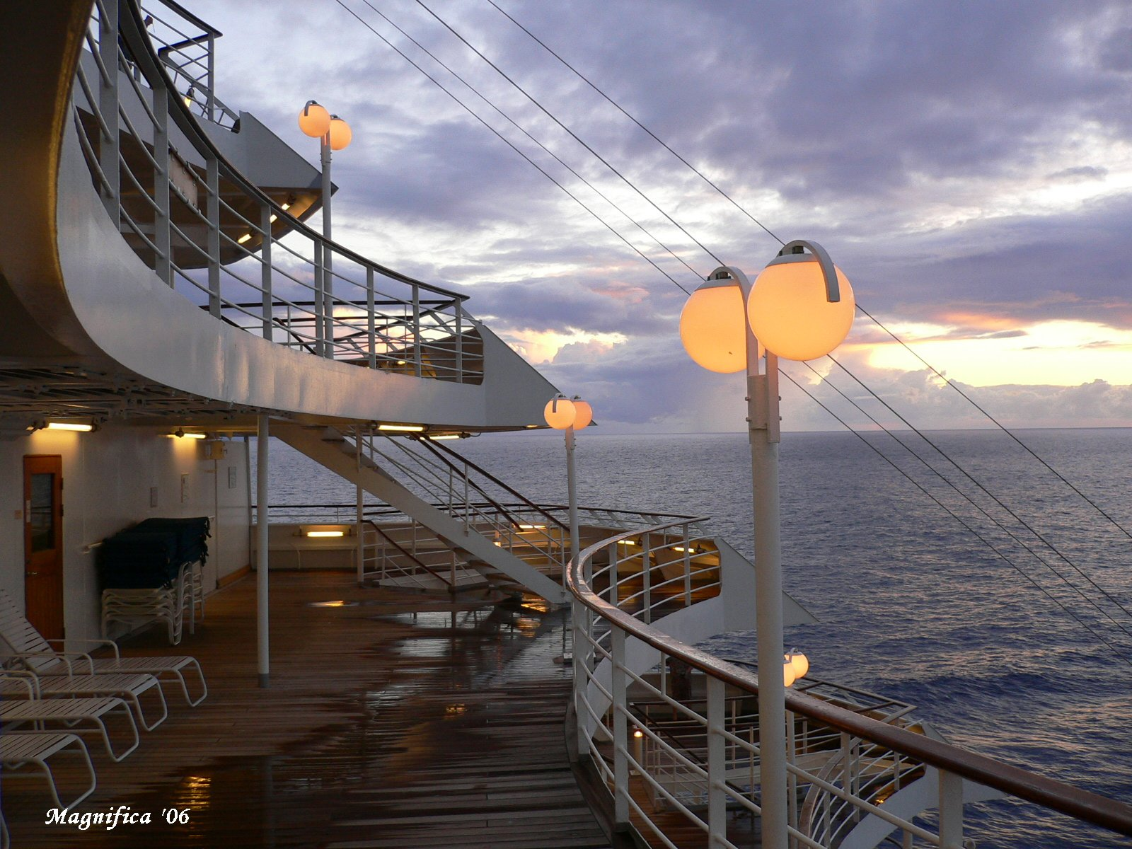 ASUKA II world cruise 2006 No.73 crossing the date line/日付変更線通過_e0140365_15472892.jpg