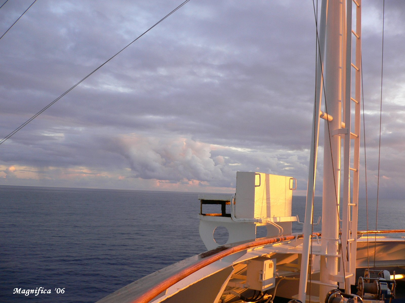 ASUKA II world cruise 2006 No.73 crossing the date line/日付変更線通過_e0140365_15483850.jpg