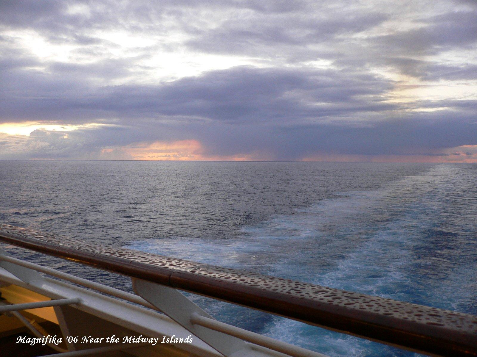ASUKA II world cruise 2006 No.73 crossing the date line/日付変更線通過_e0140365_1604675.jpg