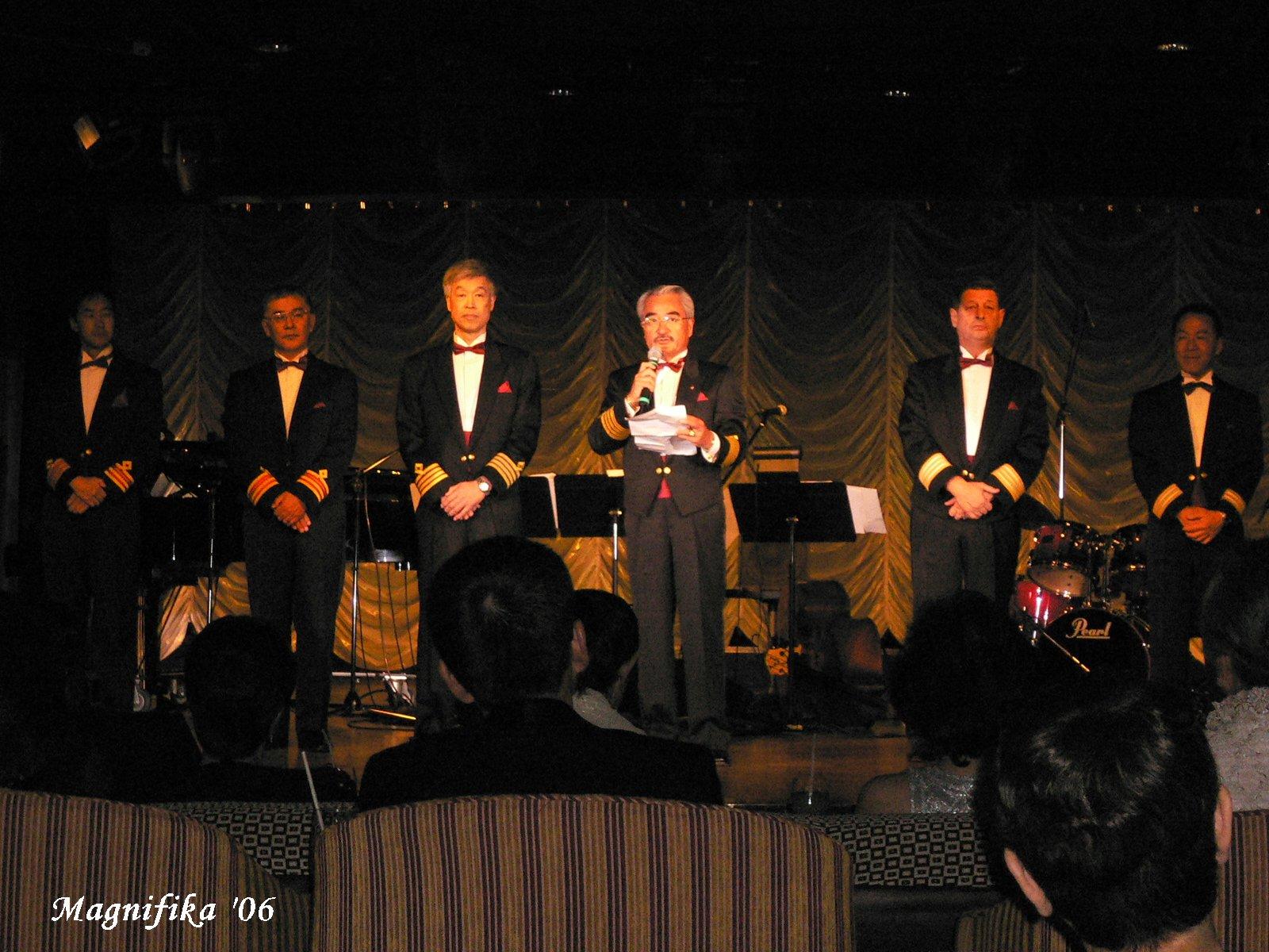 world cruise 2006 No.76 captain\'s farewell party / フェアウエル・パーティ_e0140365_17294985.jpg