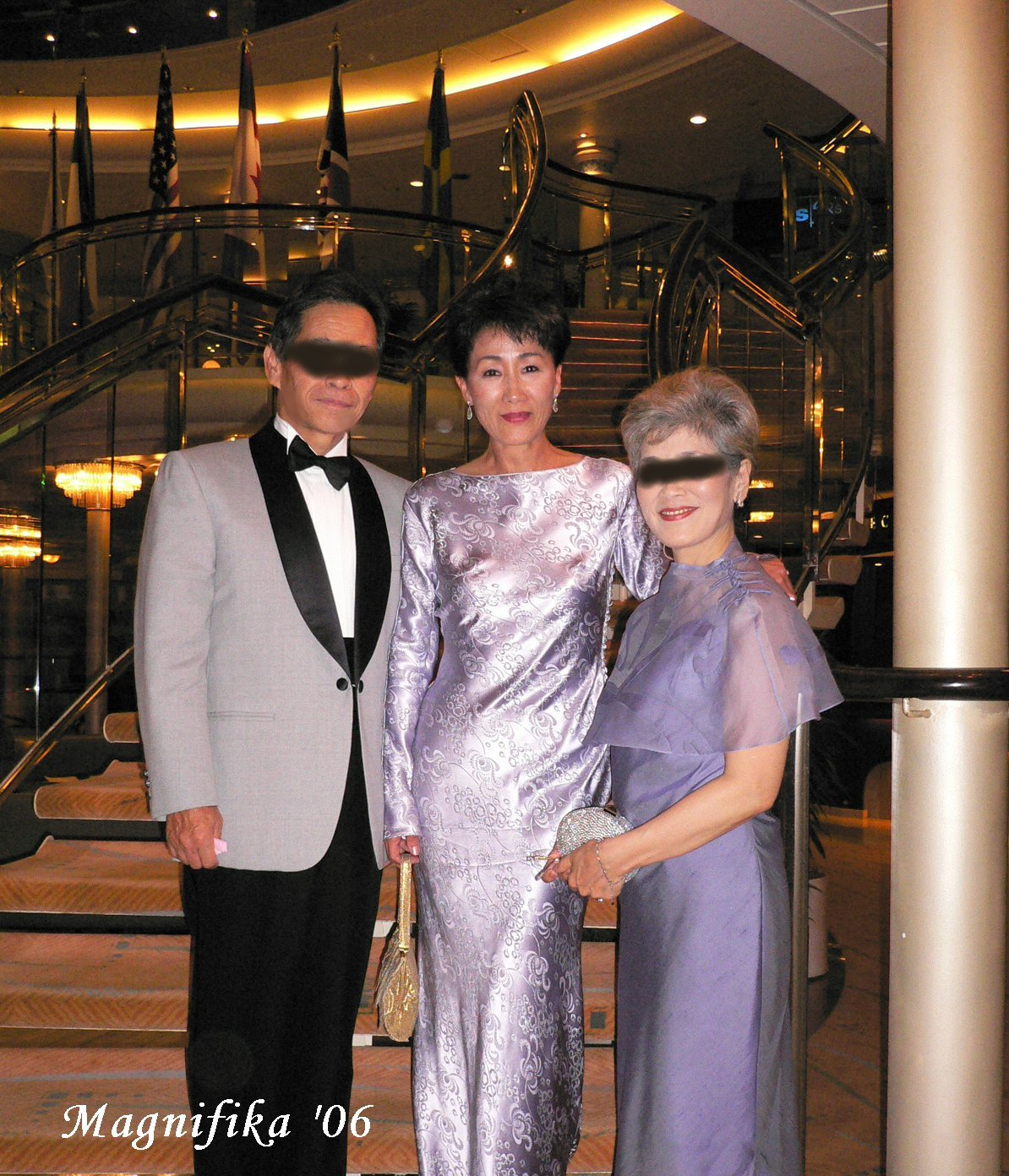 world cruise 2006 No.76 captain\'s farewell party / フェアウエル・パーティ_e0140365_17313385.jpg