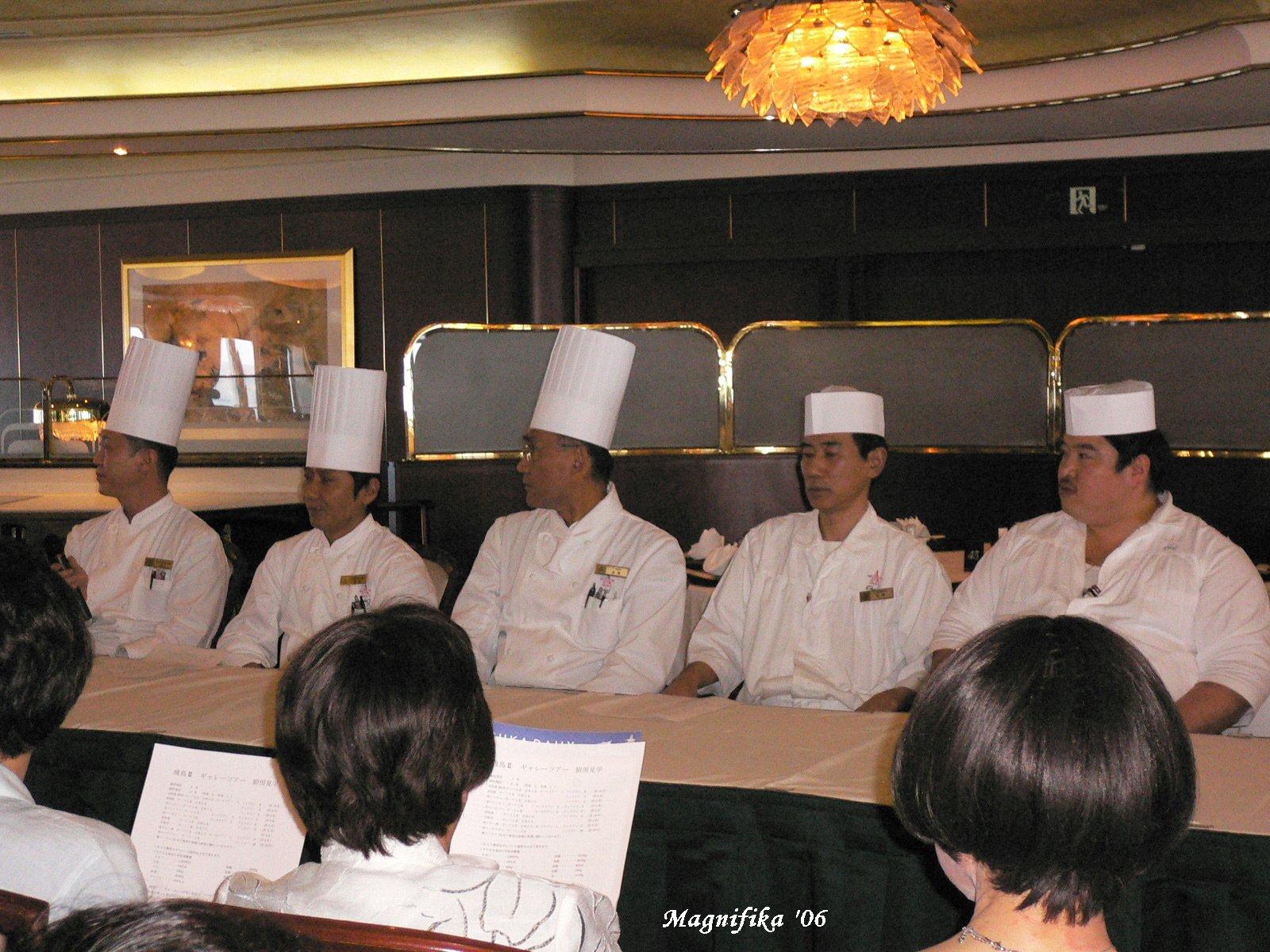 ASUKA II world cruise 2006 No.75 galley tour / 厨房見学_e0140365_1762856.jpg