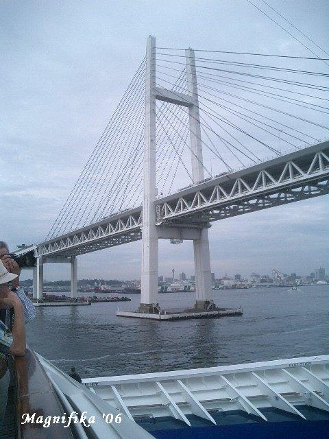 AUSKA II world cruise 2006 No.78 back home / 横浜帰港_e0140365_23253113.jpg