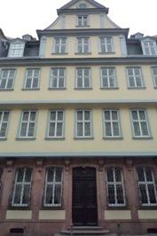 Frankfurt フランクフルト~ゲーテハウス_e0195766_3464393.jpg