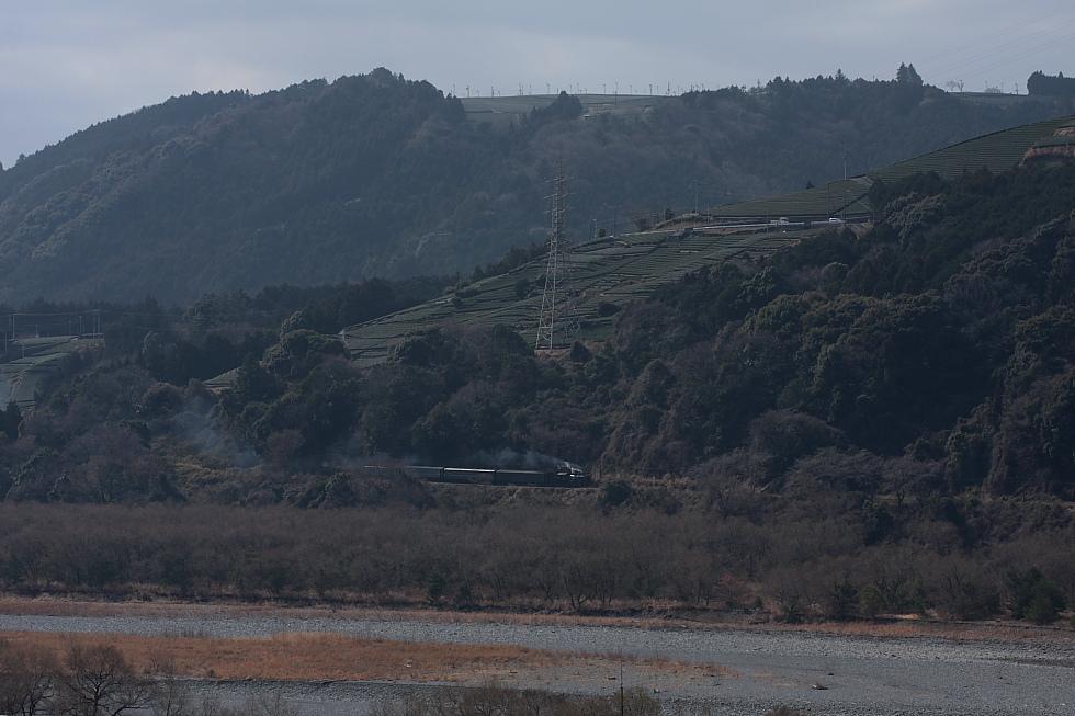 対岸の薄煙 - 2011早春・大井川 -_b0190710_2244371.jpg