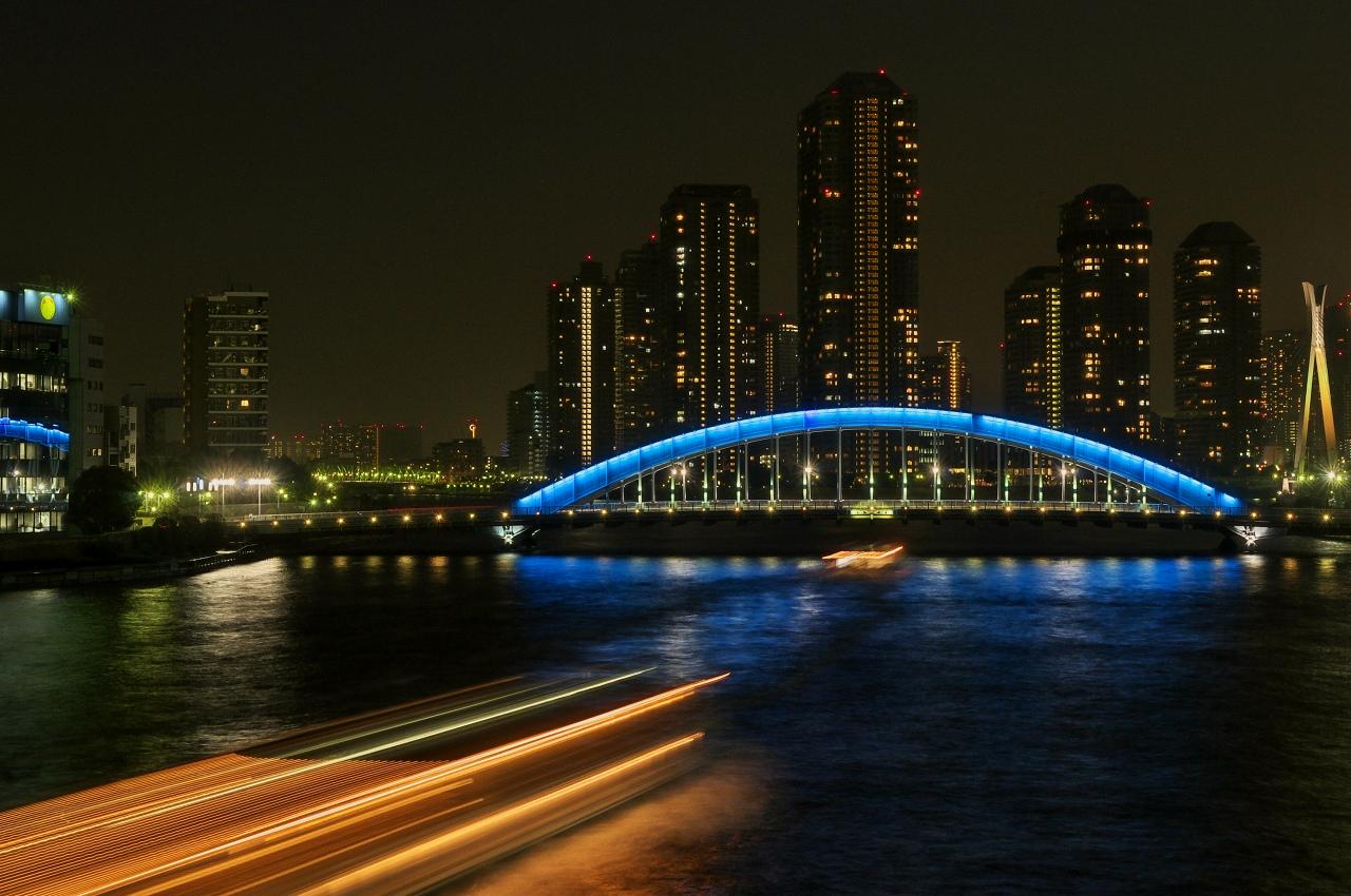 リバーシティ21と永代橋 2_f0018464_6101719.jpg