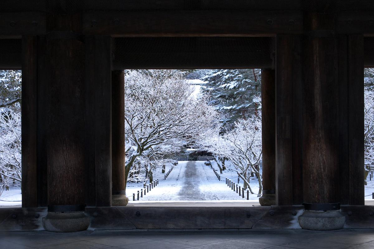 雪景色 <南禅寺>_f0021869_23523013.jpg