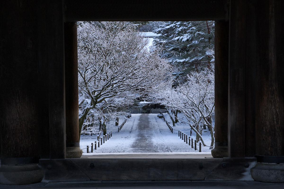 雪景色 <南禅寺>_f0021869_23525265.jpg