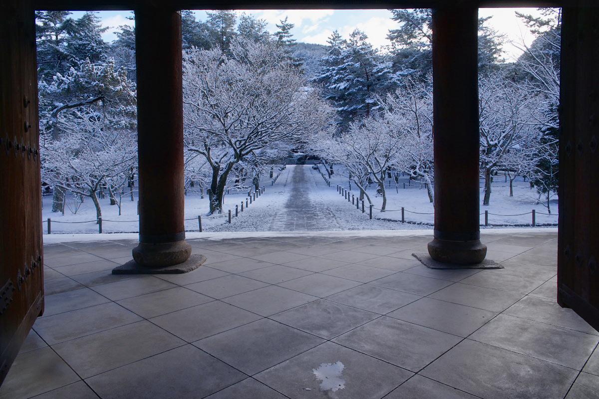 雪景色 <南禅寺>_f0021869_23532769.jpg