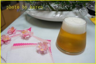 ビールそそぎました~_e0236480_0271962.jpg