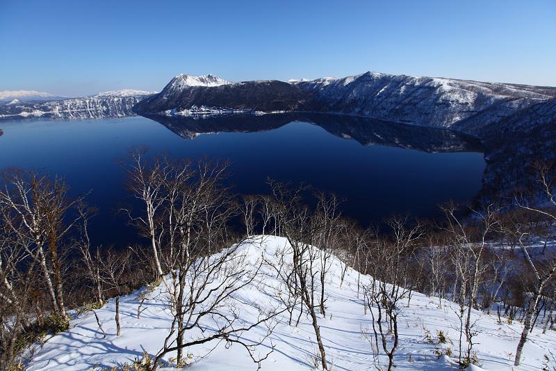 2/3 眼下の絶景 驚愕 真っ青の摩周湖_a0160581_9152992.jpg