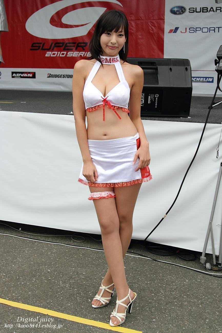 森下まゆみ さん(BOMEX RACE QUEEN)・・・パート2_c0216181_16102237.jpg