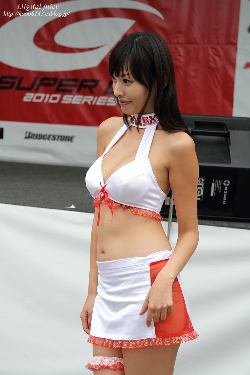 森下まゆみ さん(BOMEX RACE QUEEN)・・・パート2_c0216181_1694334.jpg