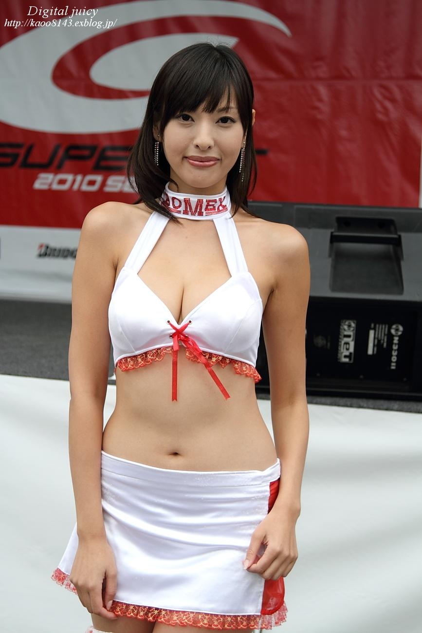 森下まゆみ さん(BOMEX RACE QUEEN)・・・パート2_c0216181_1695986.jpg